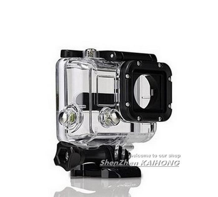 F05757 OEM 35M Underwater Waterproof Protective Housing Case for GoPro Hero3 Outside Sport Camera Free Shipping(China (Mainland))