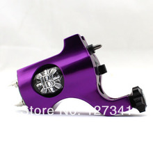 Wholesale Tattoo Supply Premium Purple PVD Aluminum Bishop Rotary Tattoo Machine Liner Shader Combined(China (Mainland))