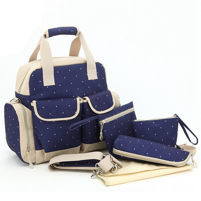 New Brand Diaper Bag Backpack Multifunctional Large Capacity Maternity Handbag Stroller Bag Baby Changing Nappy Bags for Mom(China (Mainland))
