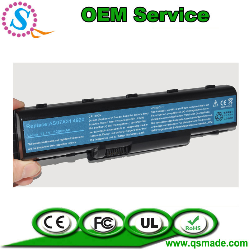 ( Free Shipping )Original Standard 4710 Battery For Aspire 2930 2930-582G25Mn 2930-593G25Mn 2930-733G25Mn Type(China (Mainland))