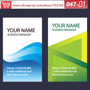 0047-01 business card template for the paper mill shop medical business cards name card creator(China (Mainland))