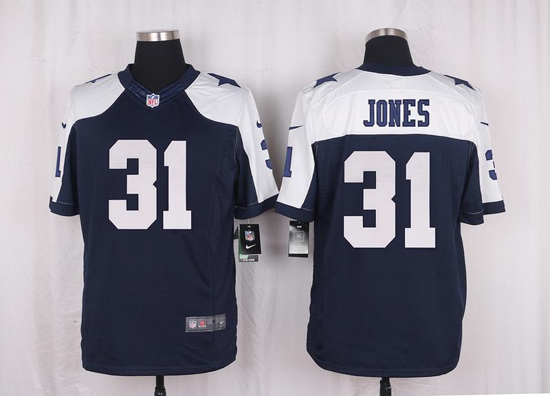 Men's free shiping A+++ quality Dallas Cowboys #31 Byron Jones Limited Navy Blue Throwback Alternate(China (Mainland))
