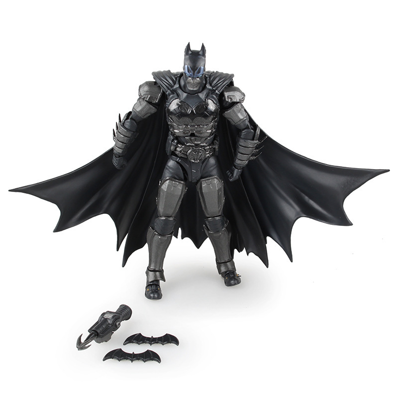 DC Comics Justice League America Anime Batman SHF Bandai Movable Action Figure Toys 16cm PVC Kids Collection Model 0378(China (Mainland))