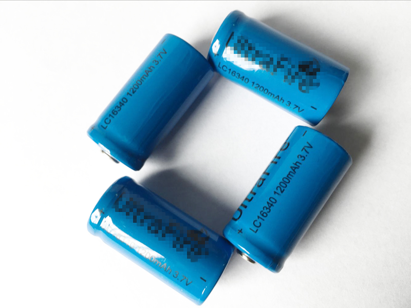 4PCS battery 16340mAh 3.7 V lithium Li-ion rechargeable batteries LED flashlight high capital 16340 battery free delivery<br><br>Aliexpress