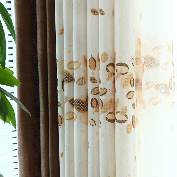 Cotton Fabrics Curtains Pastoral Pastoral Style Simple Modern IKEA Windows(China (Mainland))