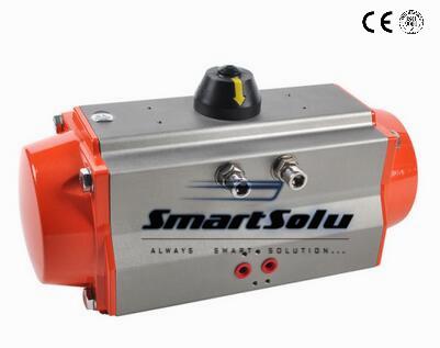 Free shipping AN32 torque pneumatic actuator/ pneumatic parts/automatic valve pneumatic control actuator(China (Mainland))