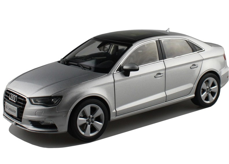 2015 hot sell AUDI A3 Limousine 1:18 alloy car model(China (Mainland))