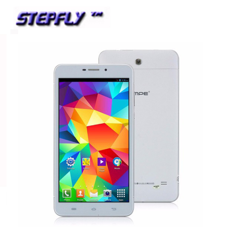 free shipping Original AMPE 6.98 inch MTK8312 Dual Core 512M 8GB Android 4.2 dual sim 3G Tablet PC( A698)(China (Mainland))