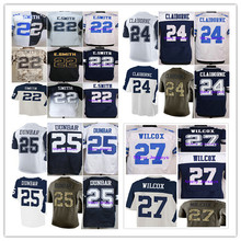 2016 Emmitt Smith,Morris Claiborne,Lance Dunbar,J.J. Wilcox men women youth Jerseys thanksgiving Blue White stitched ELITE M-4XL(China (Mainland))