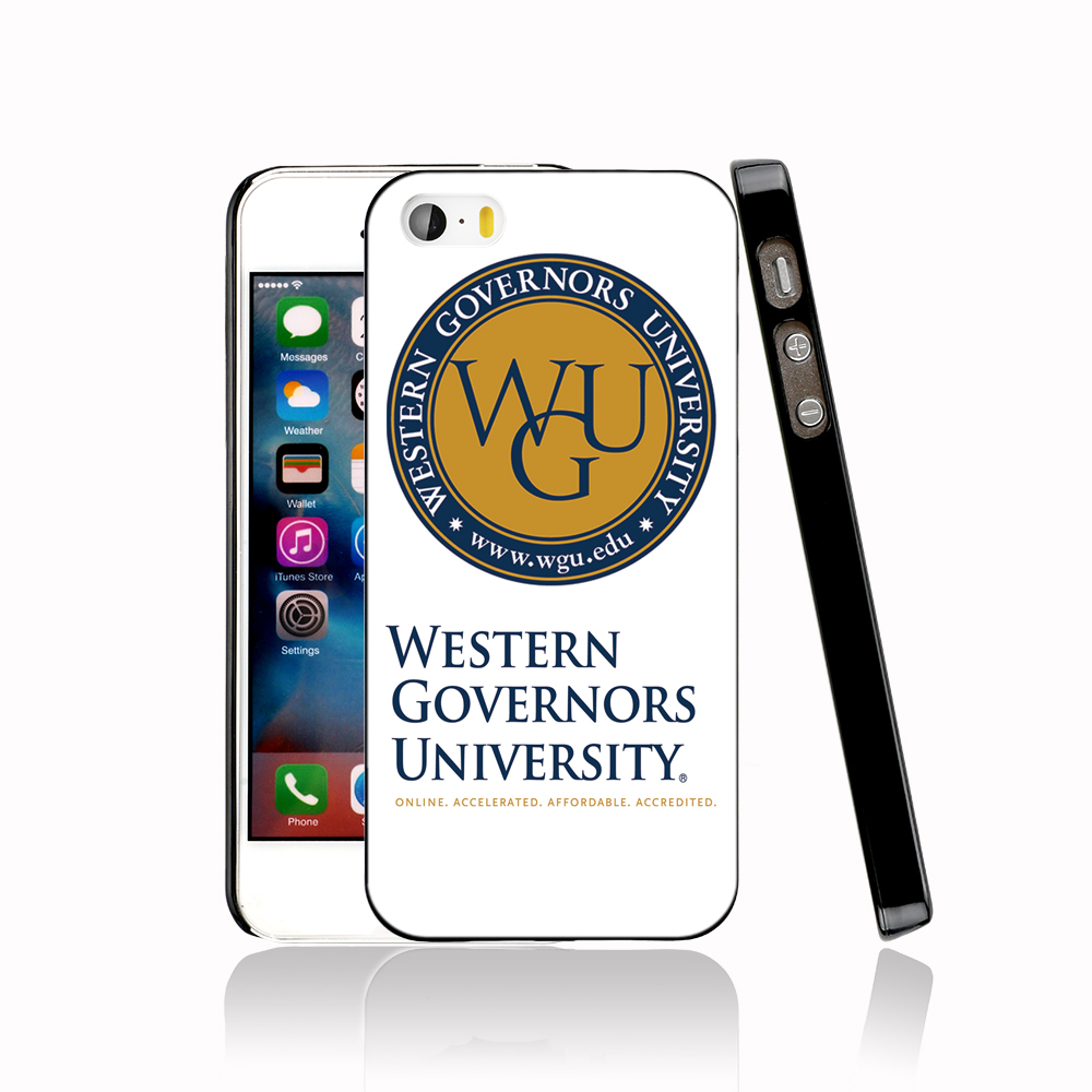 12478 Western Governors University Cover cell phone Case for iPhone 4 4S 5 5S 5C SE 6 6S Plus 6SPlus(China (Mainland))