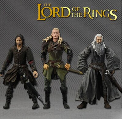 Lord of the rings PVC action figure Legolas gandalf Mordor Orcs Grim Reaper Aragorn multiple option for collection<br><br>Aliexpress