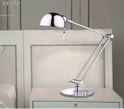 chrome bedside lamp 2