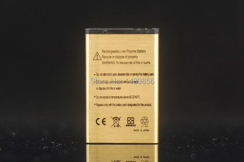 1Pcs High Capacity 2450mAh Replacement BL 5C Gold Li ion Battery Rechargable For Nokia C2 06