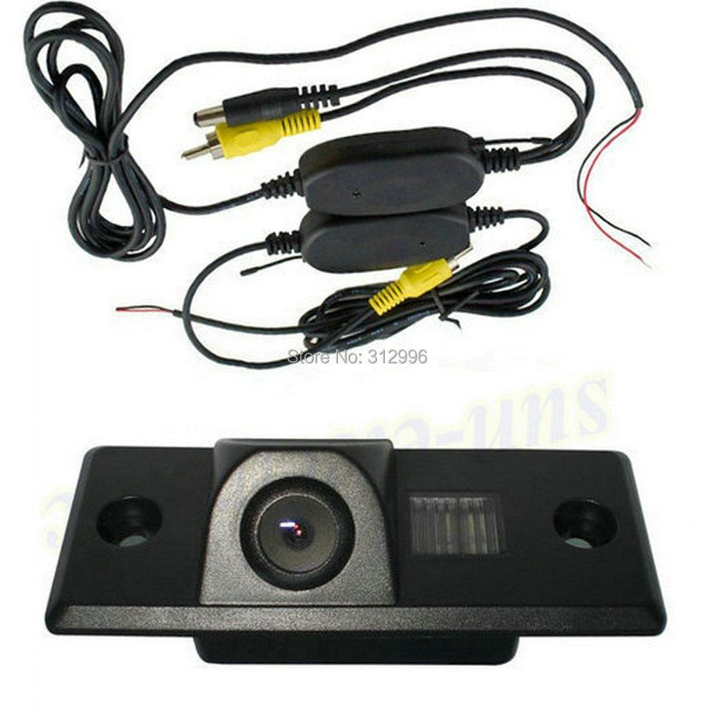 Wireless SONY Chip CCD Car Rear View Reverse backup Camera PORSCHE CAYENNE VW SKODA FABIA/POLO(3C)/TIGUAN/TOUAREG/PASSAT - Sunroad electronic factory store
