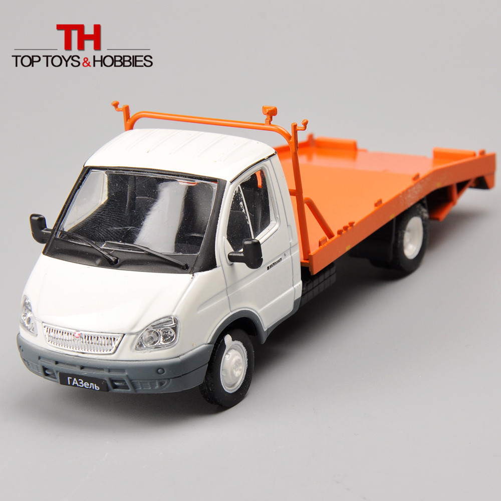 Diecast Car 1/43 Russia Collection Trailer Truck Transportation Car Alloy Vehicles Model Toy car Gift Brinquedos Menino(China (Mainland))