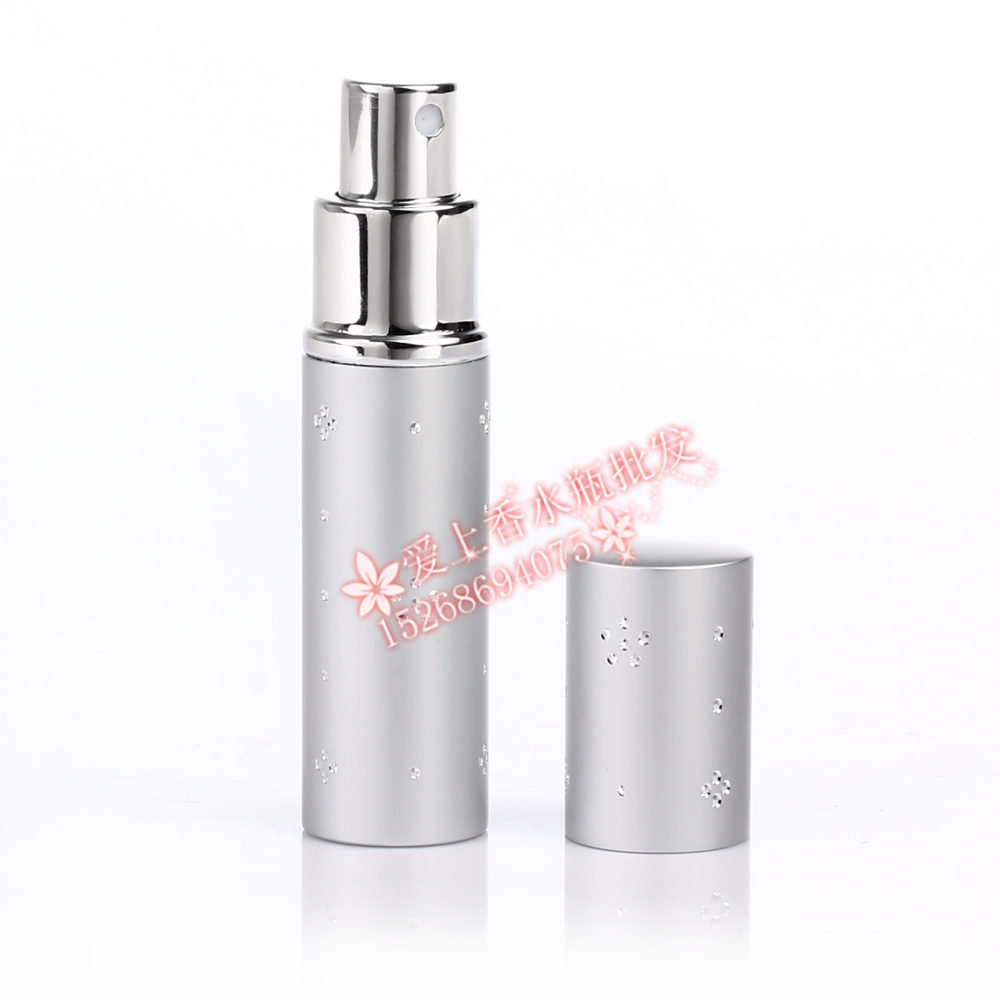 100pcs wholesale 5ML plum stones aluminum spray bottles/ 5ml small empty lipstick perfume bottle / 5 ml mini perfume bottle<br>