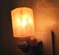 Natural Himalayan Wall Salt Night Light Nursery Lamp Cylinder shape Mini Decorative Crystal wall Night light