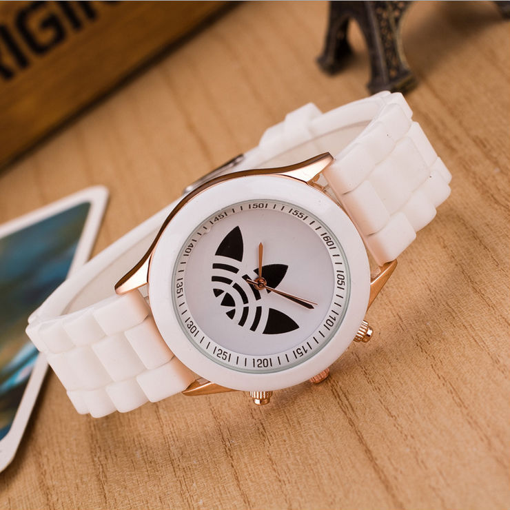 13 colors Quartz Ladies Dress Watches Female Males Sports Casual Wristwatch silicone Band Clocks 2015 New Style relojes(China (Mainland))