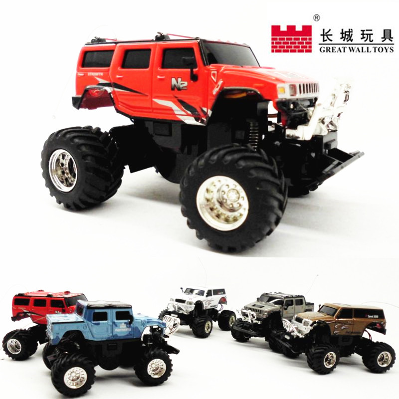 2015 Toy Free Shipping Rc Suv Remote Control Off Road Vehicle Great Wall Mini Electric Car Miniature Charging 1:58 Model Styling(China (Mainland))