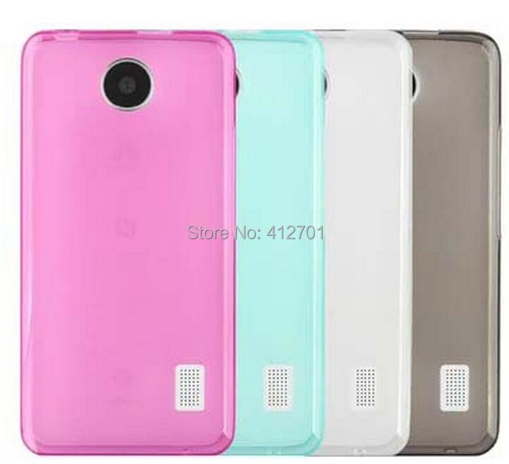 50pcs/lot&Free shipping High quality soft pudding TPU Transparent Scrub Cheap Phone Case for Huawei Ascend Y635(China (Mainland))