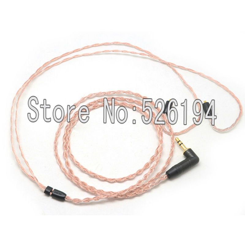 Free shipping 5N OFC cable for SE846 SE535 SE425 SE315 SE215 UE900 Earphone Upgrade Cable / Headphone Replacement Cord