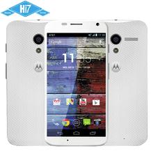 Original Motorola Moto X XT1058 Dual Core Android 4.2 10MP Camera 2GB RAM 16GB ROM Unlocked GSM HSDPA LTE Phone Free Shipping