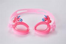 Cosplay Silikon Karikatür yüzücü gözlükleri Çocuklar Çocuk Yüzme Prop Gözlük Anti-Sis Su Geçirmez dalış maskesi Gözlük Açık(China)