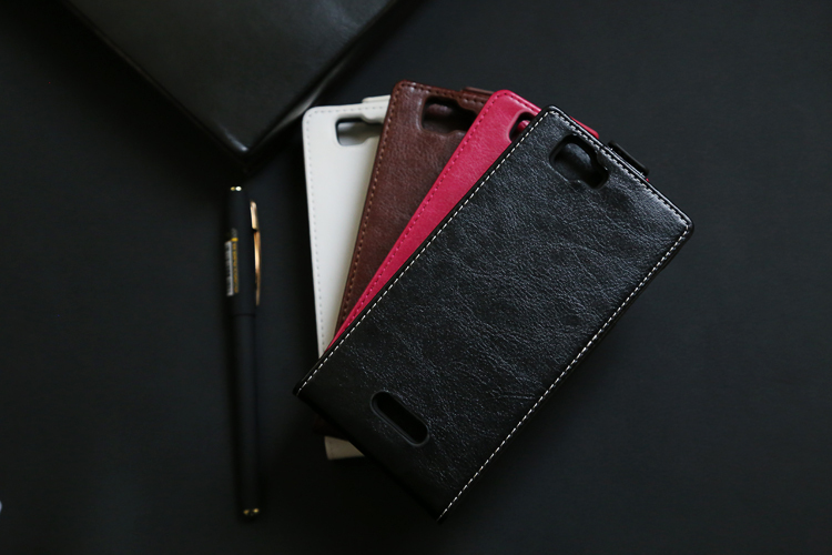 10 pcs/lot Leather Telephone Bag With Card Slot For Explay FRESH White Pink Black Brown Free Shipping Factory Price(China (Mainland))