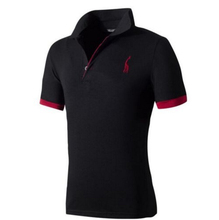 High quality summer styles section of the big size brand polo men shirt plus size XXXL short sleeve classic solid slim tops