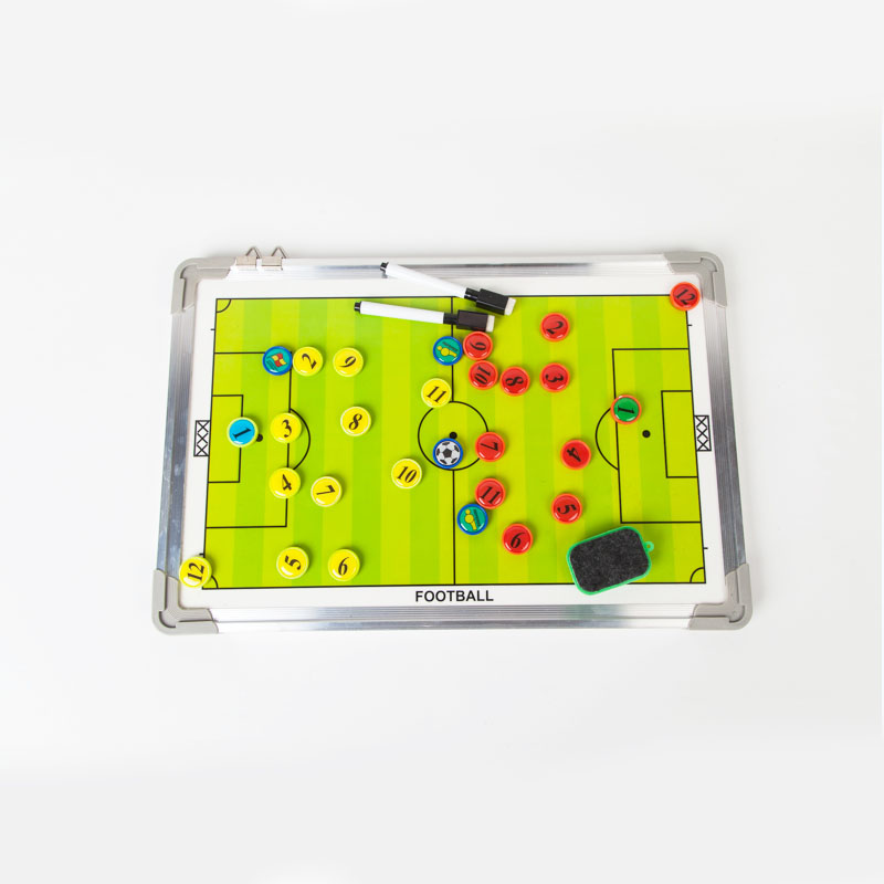 MAICCA Super Soccer Coaching Board Magnetic Football Coach board big Tactical plate tactics book set with Pen Teaching Clipboard(China (Mainland))