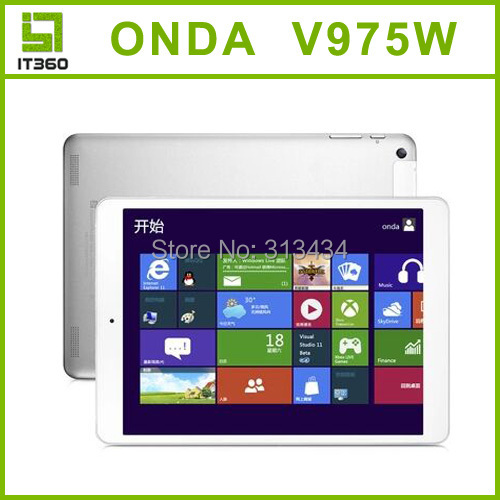 2015 NEW Onda V975W Window 8 1 Intel Z3735 Quad Core Tablet PC 2GB 32GB Retina