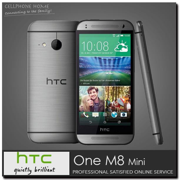"One M8 mini 2 Unlocked Original HTC One Mini 2 Cell Phones Quad Core 4.5"" 13.0MP 1080P 16GB ROM Android 4.4 WIFI 3G Refurbished(China (Mainland))"