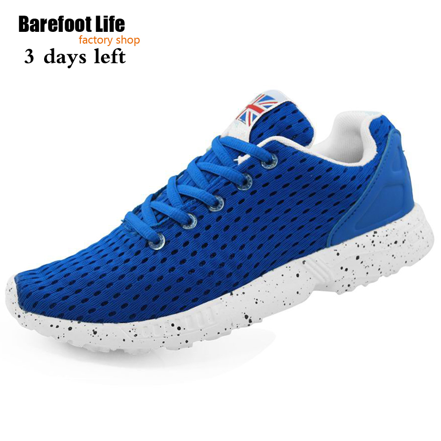 new blue color running shoes of woman and man,use air mesh upper is light breathable athletic fashion sneakers woman and man(China (Mainland))