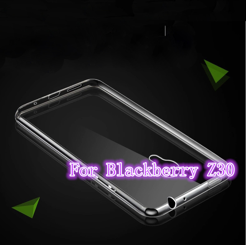 High Quality Transparent Hard Case Plastic Crystal Clear Luxury Protective Cover For Blackberry Z30(China (Mainland))