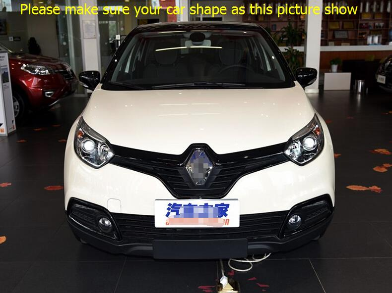 Фотография Stainless Steel Inner Door Sill Scuff Plate Cover Trim 4pcs / set For Renault captur 2014 2015