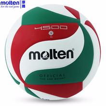 Molten Volleyball Official Game Size 5# Balls Weight VSM4500 VSM5000 Outdoor Indoor Training Compitition Balls Beach Handballs(China (Mainland))