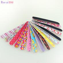Nail tools such as color explosion models double-sided printing eva eva nail file nail factory flower(China (Mainland))