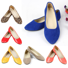 2015 New Women's Flat Shoes Shallow Mouth Single Work Shoes Simple Sexy Female Boat Shoes Wholesale Free Shipping(China (Mainland))