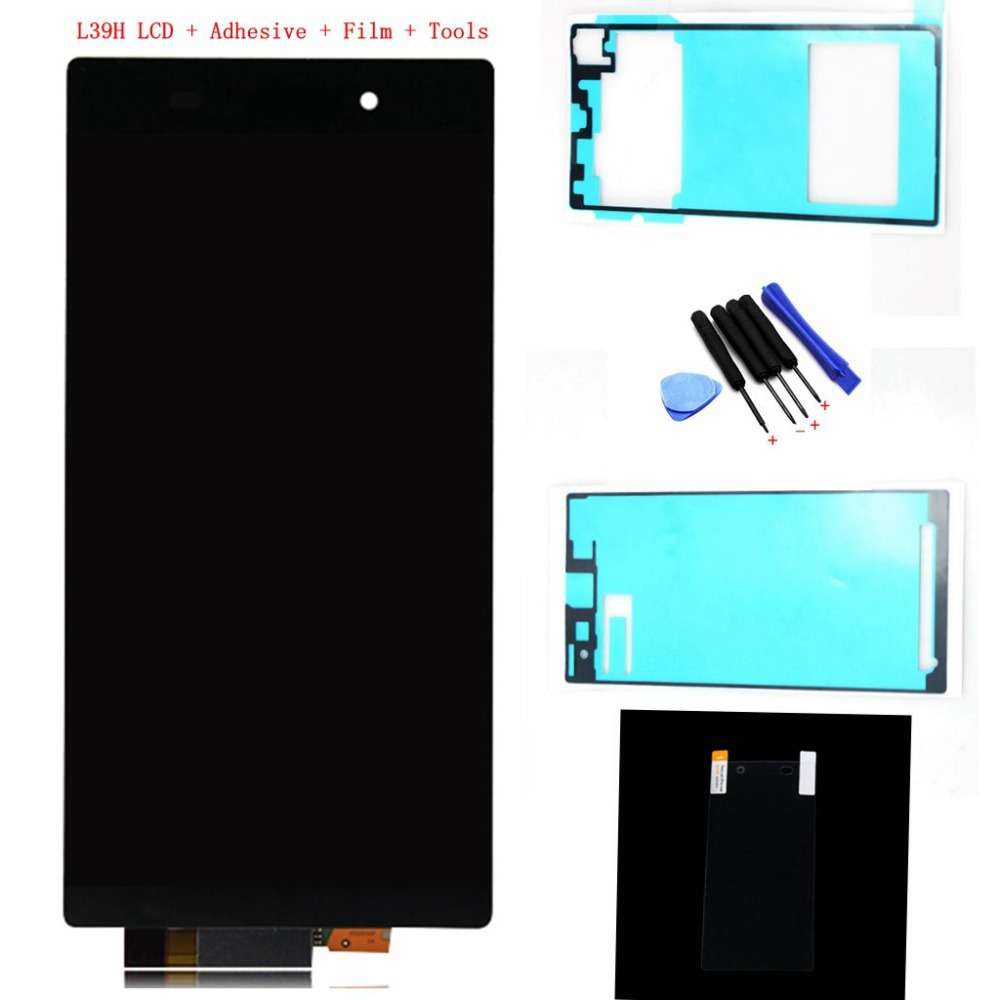 For Sony xperia Z1 L39H L39 LCD Display c6902 c6903 C6906 LCD Touch screen with Digitizer Assembly + tools + adhesive + Film(China (Mainland))