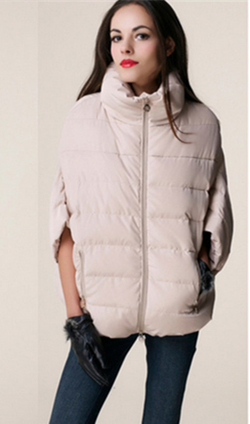 2015 sale full new ladies fashion down coat winter jacket outerwear Bat sleeve in thick women jackets parka overcoat LJ910(China (Mainland))