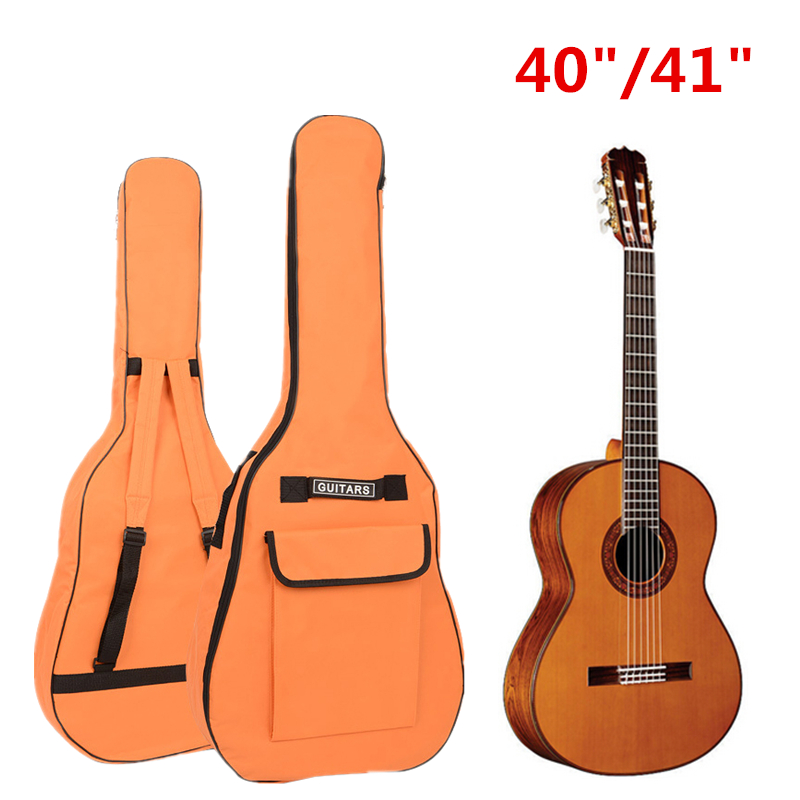 """IRIN Portable Double Straps Oxford Fabric Gig Bag for 40"""" / 41"""" Acoustic Guitar Soft Waterproof Guitar Case Backpack(China (Mainland))"""
