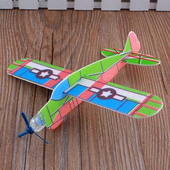 3D G3 Foam Airplanes Sky Raider Glider Flying Child Children Kids Boy Cool Toy