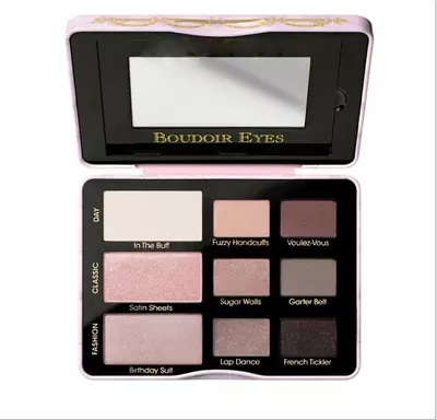 9 Colors Boudoir Eyes Soft & Sexy Eye Shadow Collection Eyeshadow Palette Pigment Eye Shadow Makeup Make Up Kit Set(China (Mainland))