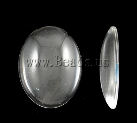 Free shipping!!!100PC/Lot Wholesale Lot Oval translucent 30x40mm jewelry DIY making components Accessories Glass Cabochons(China (Mainland))