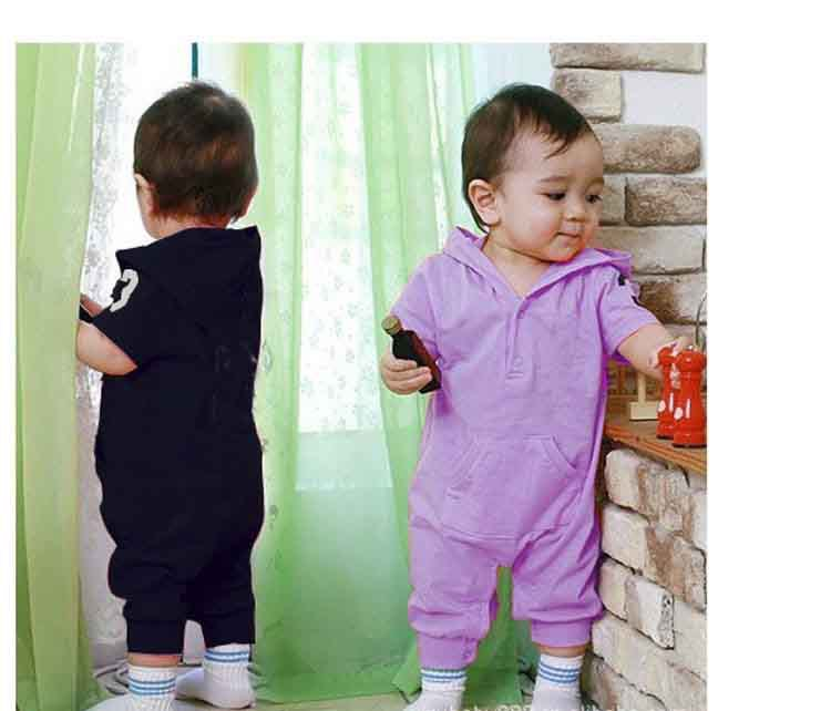 baby suit Baby romper Good quality romper/Unisex sport rompers short sleeve one-piece jumpsuit Girl's Fashion Cotton Toddler(China (Mainland))