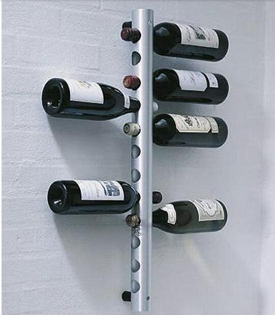 12 holes Vertical Wine Racks Holder Metal Bottle Rack Wine Coolers Holders Buckets Barware(China (Mainland))