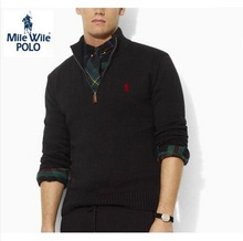 Free shipping on 2016 brand men's casual sweater fashion clothing men's long sleeve sweater s-xxl(China (Mainland))