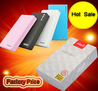 30000mAh Power Bank External Battery Pack with 2*USB Portable Charger