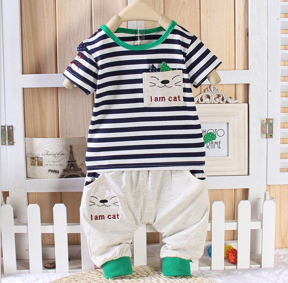 Retail ~ 2014 Summer New style baby boys/ girls Angel wings sports clothe suits (hoodies+pants) ,children clothing set ,1set(China (Mainland))