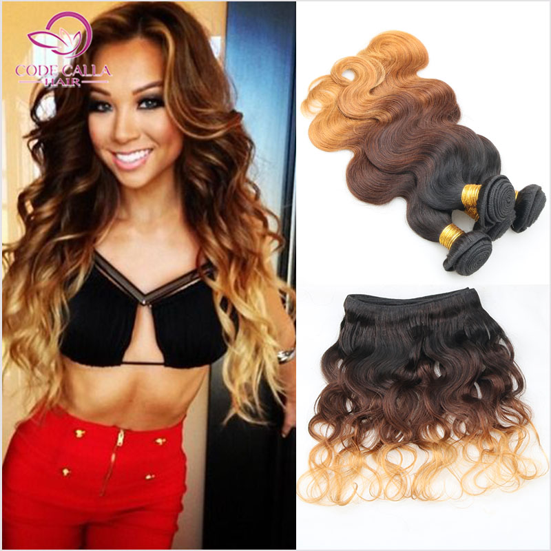 Rosa Hair Products Peruvian Body Wave Human Hair Weave 3 Bundles Body Wave Virgin Hair Bundles Virgin Peruvian Ombre Hair Bundes(China (Mainland))